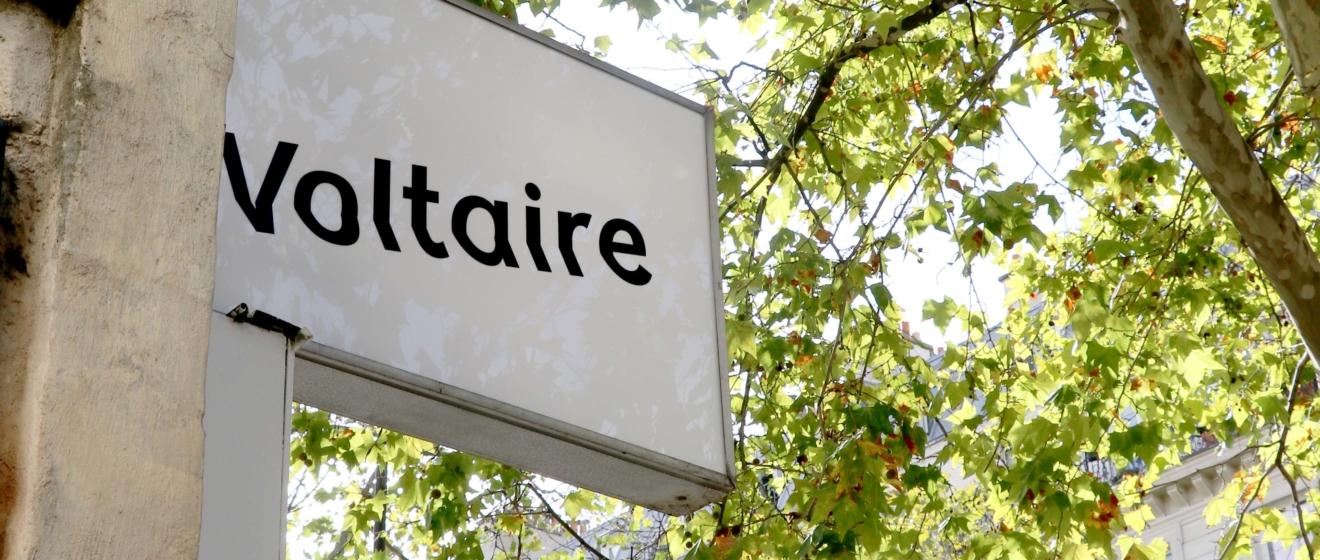 Voltaire, un lieu d'exposition temporaire mis à la disposition des artistes par Emerige