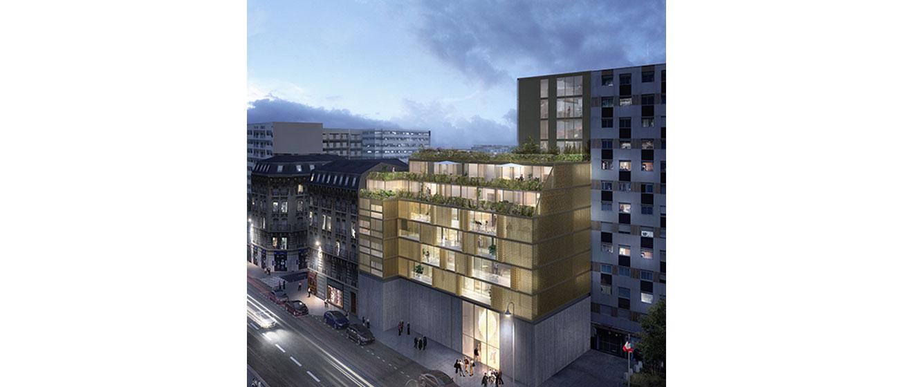 Le futur programme immobilier Emerige et Icade pour les Ateliers Vaugirard de la RATP