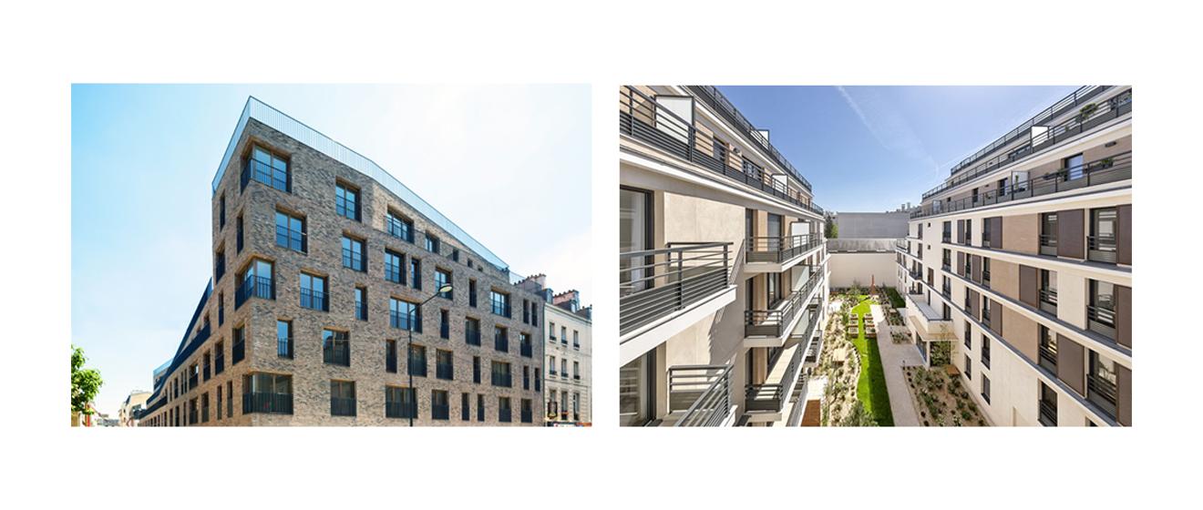Les programmes immobiliers 16 Gabriel Péri à Saint-Denis et Rue du Commandant Mouchotte à Saint-Mandé