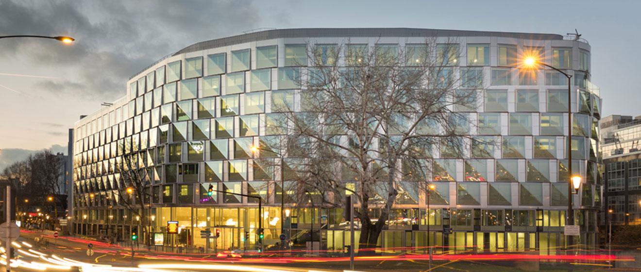 Quai Ouest, immeuble de bureaux Emerige nommé aux grands prix SIMI