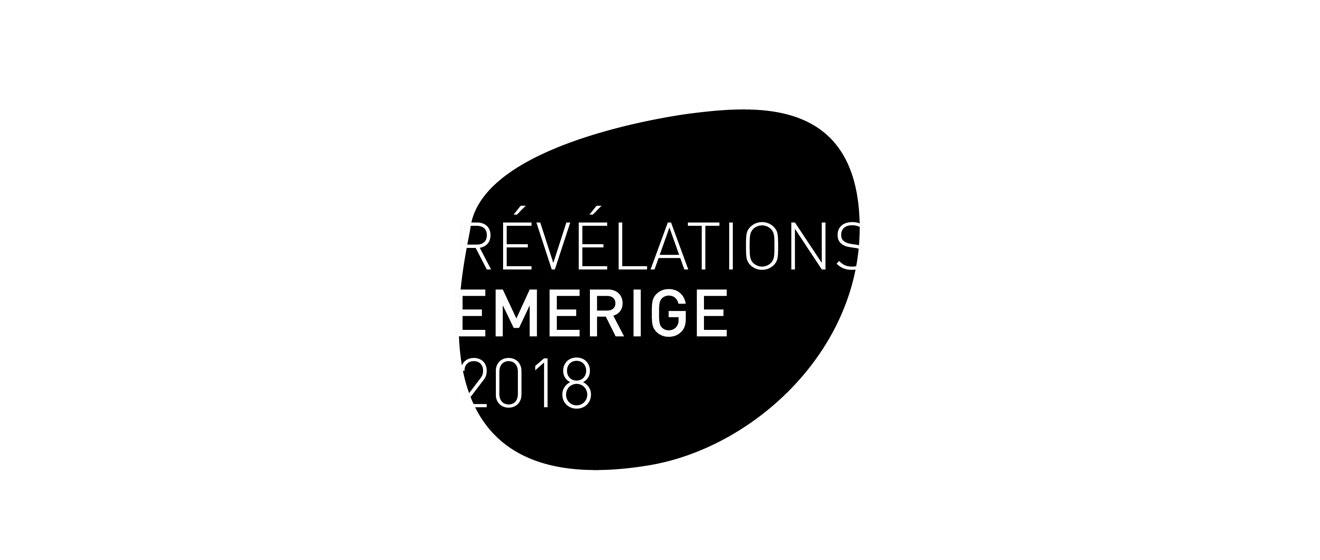 Logo de l'édition 2018 de la Bourse Révélations Emerige