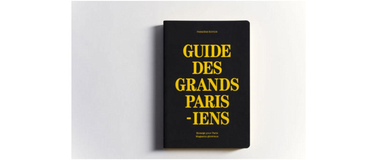 Couverture du guide des Grands Parisiens