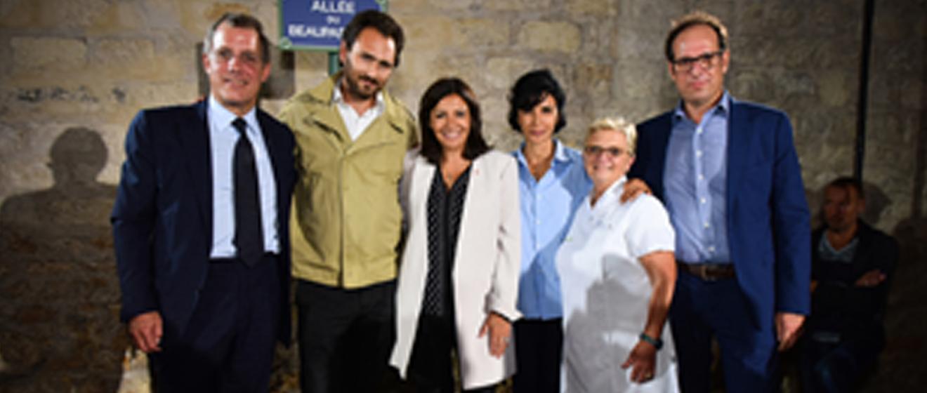 L'inauguration officielle de Beaupassage