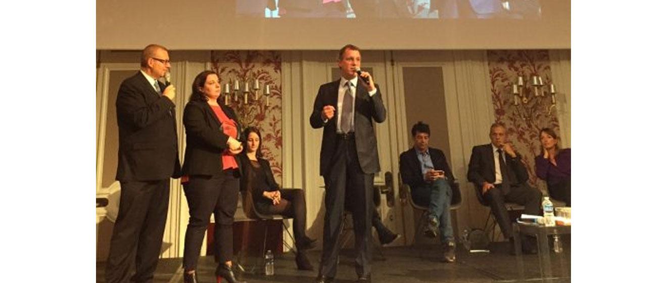 Laurent Dumas, président d'Emerige, récompensé aux Trophées du Logement et des Territoires d'Immoweek