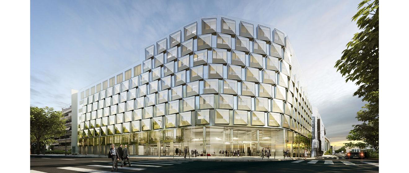 L'immeuble Quai Ouest situé à Boulogne-Billancourt