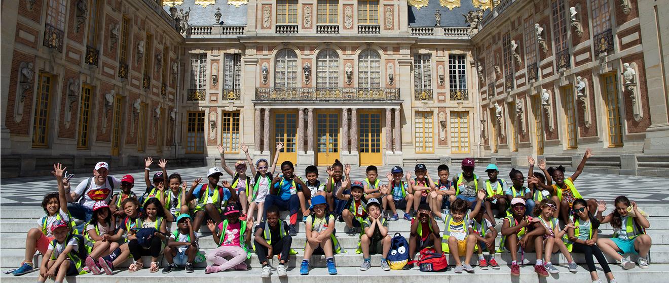 Une journée de vacances à Versailles avec Emerige pour les enfants franciliens