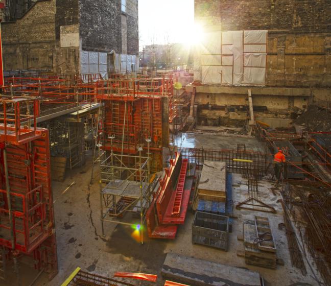 Le chantier de réhabilitation de Morland Mixité Capitale