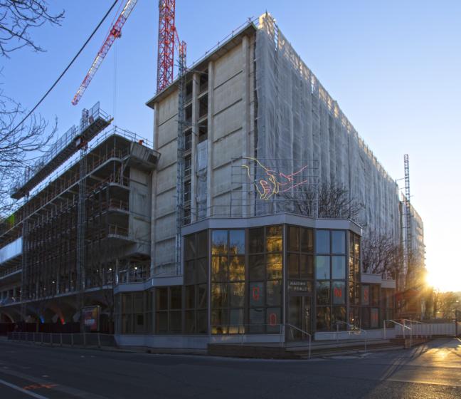 Réinventer Paris : chantier de Morland